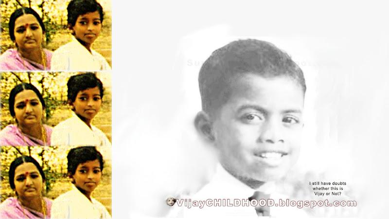 CHILDHOOD PHOTOS OF TAMIL ACTOR VIJAY