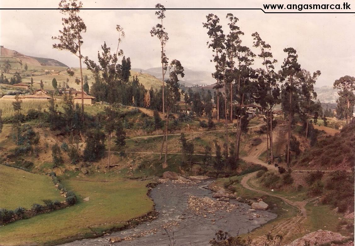 Entrada Angasmarca - década 1970's