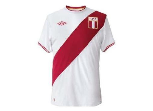 """SIN SENTIDO: MENUDO ESPANTO: Así es la """"nueva"""" camiseta de la selección peruana"""
