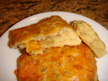 Blissfully Delicious Life Sausage & Cheddar Cheese Scones