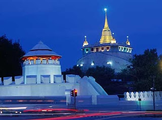 Wat Saket and The Golden Mount in bangkok