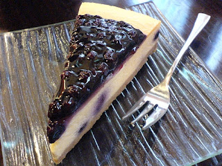 Blueberry Cheesecake Special for Vegetarian Holiday
