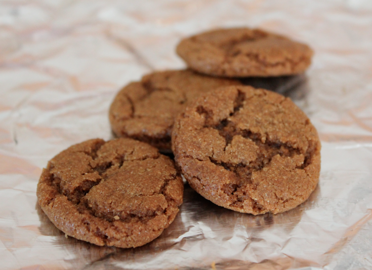 Healthy blackstrap molasses cookie recipe