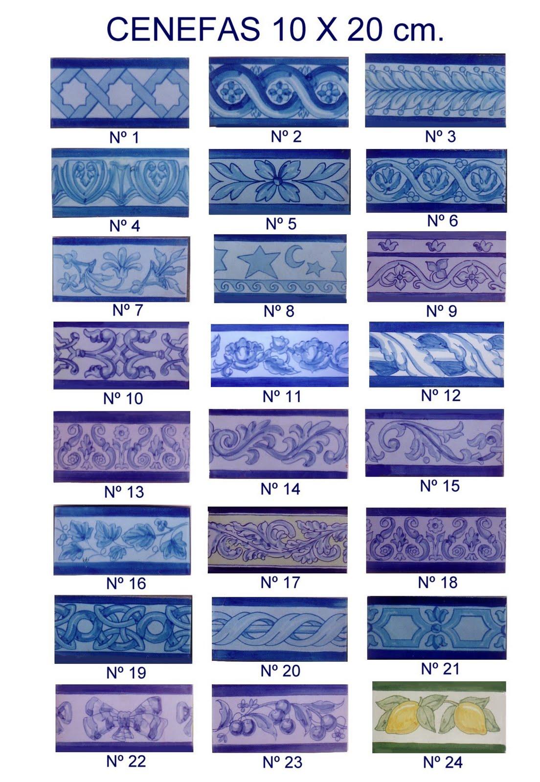 Catálogo de Azulejos y Cenefas