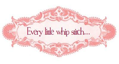 Every little whipstitch...