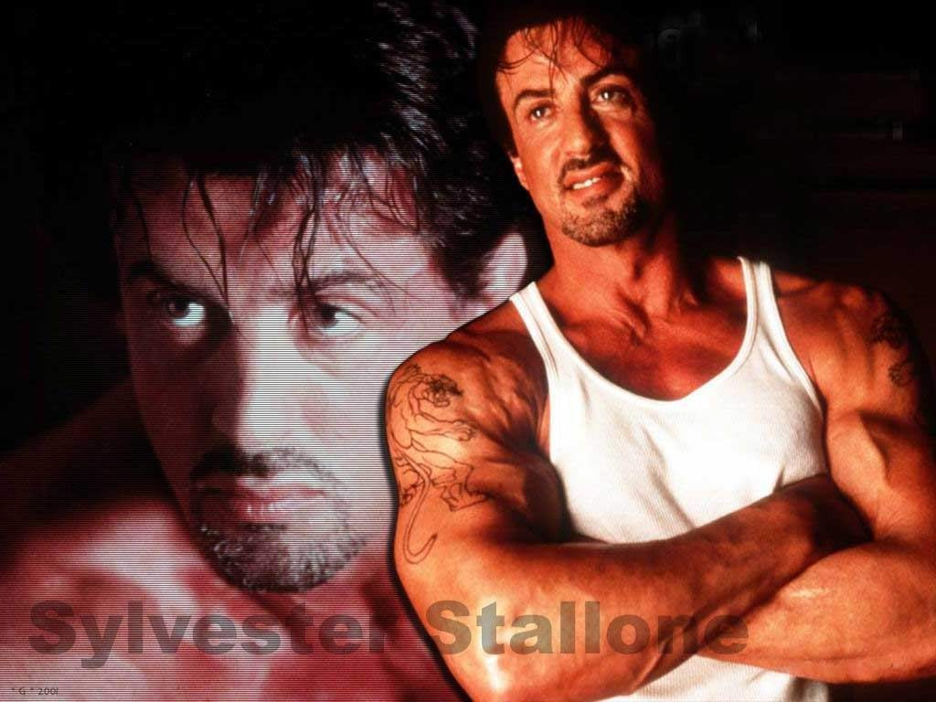 handsome Slyvester Stallone 