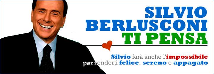 Silvio Berlusconi ti pensa