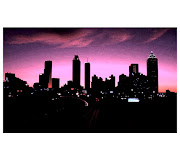 Here I took a standard Atlanta skyline image and fiddled with the exposure .