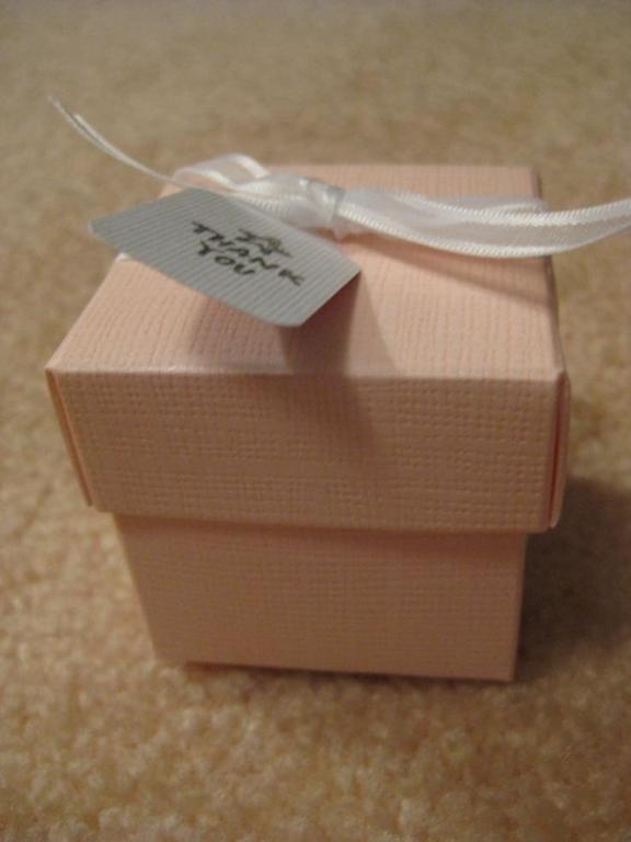 Favors We want our escort cards to double as wedding favors we would