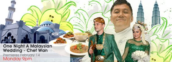 Flavours of asia watch malaysian wedding chef wan february 14 on as asias most celebrated chef chef wan currently hosts several of his own tv shows holds the role of malaysias culinary ambassador and has even been forumfinder Images