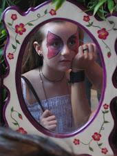 Nos pintamos la cara en la Expo-Fiesta!