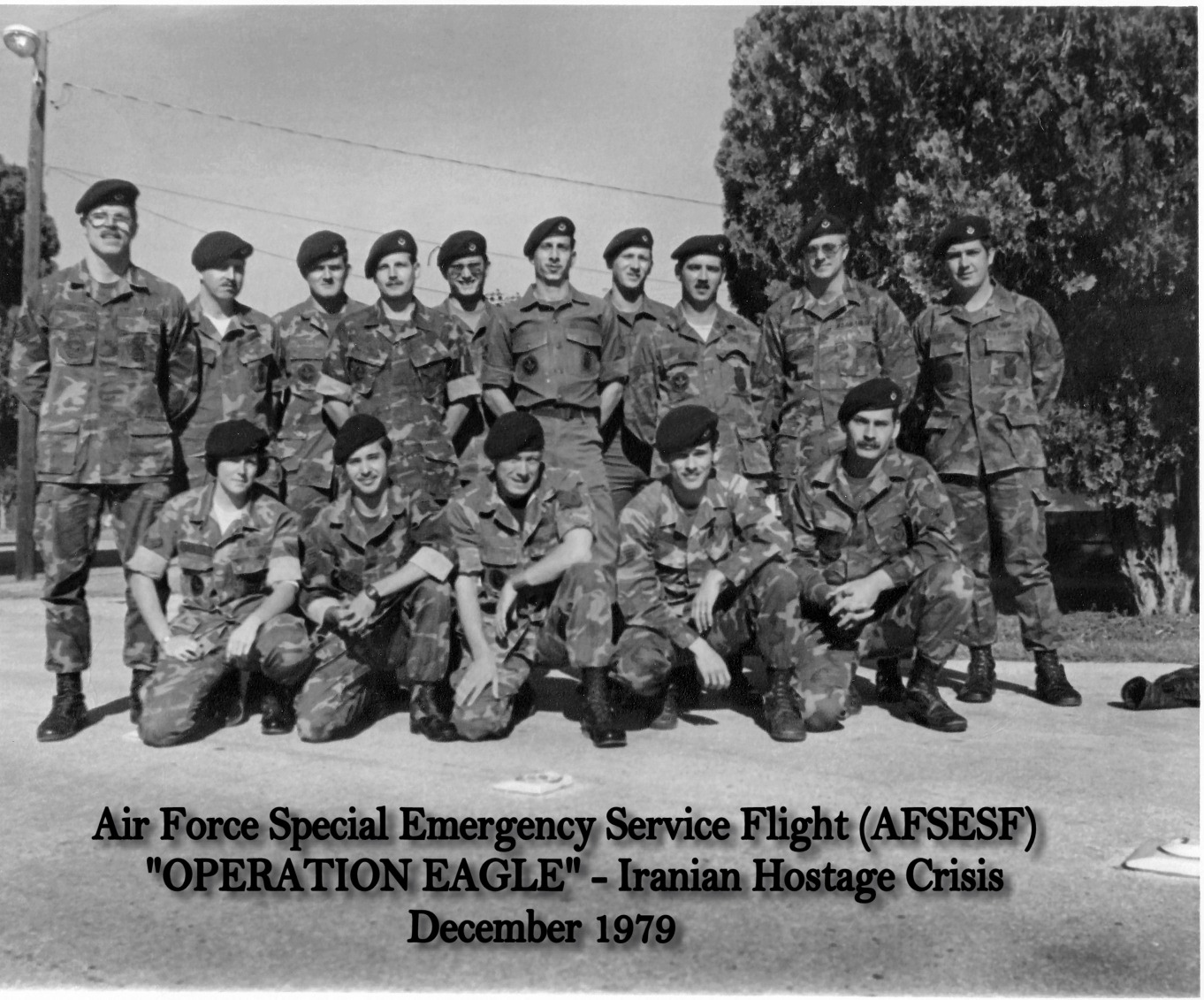 Historical AFSESF (Air Force Special Emergency Service Flight) Photo