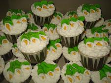 Tempahan Fondant cupcake lily - RM5 satu minimum 10