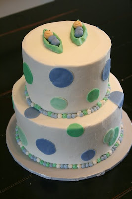 Baby+shower+cakes+for+twins+boys