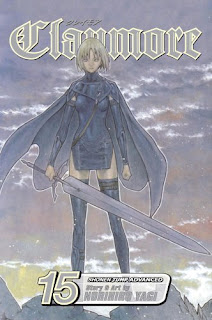 Claymore volume 15 cover