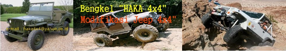 MODIFIKASI JEEP 4X4