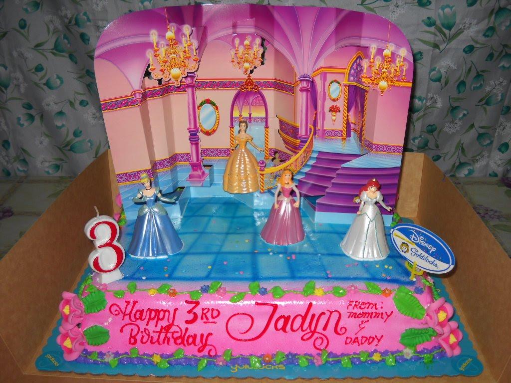 Goldilocks Disney Princess Cake Price