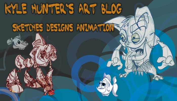 Kyles Hunter's Animation, sketches and life drawing