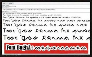 DOWNLOAD TULISAN LONTARA BUGIS MAKASSAR