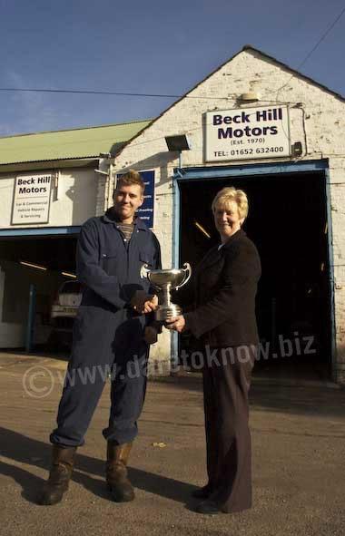 The Barton Blog Beck Hill Motors Apprentice Awarded Best