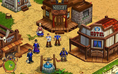 Screenshot from Westward game