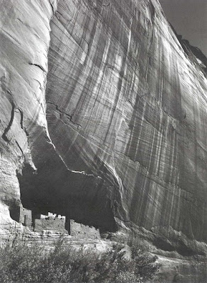 White House Ruin at Canyon de Chelly by Ansel Adams
