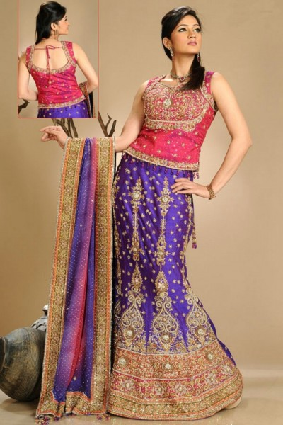 6 - Latest Lehnga Choli Designs Collection
