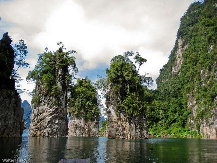 Beautiful Ao Phang-nga National Park In Thailand