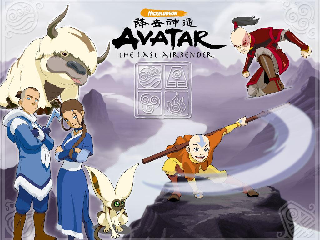 List of Avatar The Last