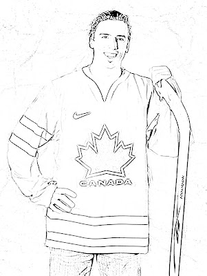 Sidney crosby colouring pages sketch coloring page for Sidney crosby coloring pages