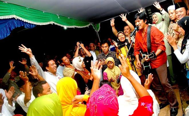 Zainudin Hasan, Ikang Fawzi dan Marissa Haque, Kampanye Lampung Selatan, 2010
