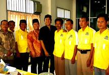 Zainudin Hasan & Ikang Fawzi di Kantor DPD Golkar Kalinda, Lamsel