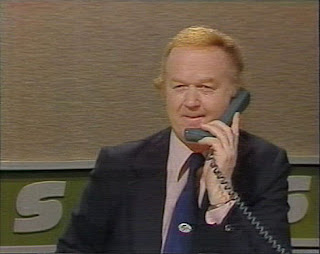 Archie Macpherson on the phone