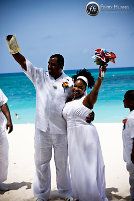 Cord of Three Strands for this Grand Cayman Beach Wedding - image 4