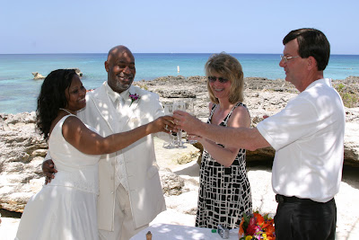 Grand Cayman - My Secret Cove was the right spot for this wedding last week - image 4