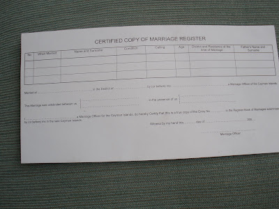 FAQ About Your Cayman Islands Wedding Certificate - image 2