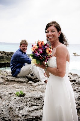 Dramatic Waves for All-Inclusive Cruise Wedding - image 5
