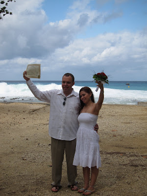 Stormy Weather Behind This Couple's Cayman Beach Wedding - image 7