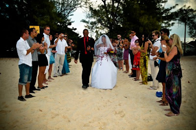 International Flavour to this Cayman Islands beach wedding - image 2