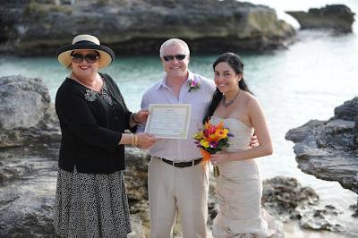 Beach Weddings Texas on Cayman Wedding For This Texas Pair     Simply Weddings Grand Cayman