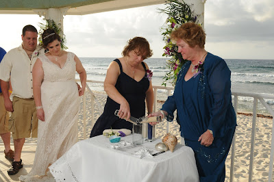 Sunset 'Cayman Sands' Wedding and Unity Sand Ceremony for Ohio couple - image 6