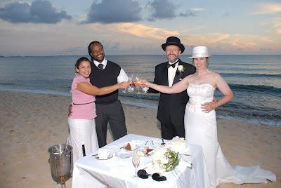 Magical Seven Mile Beach Wedding - image 5