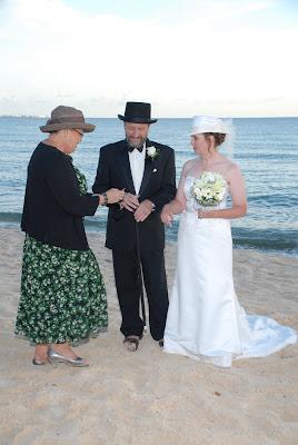 Magical Seven Mile Beach Wedding - image 4
