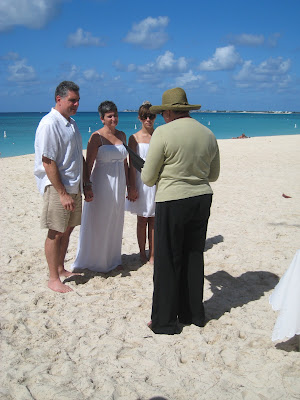 Seven Mile Beach Wedding Vows Renewal is Special - image 2