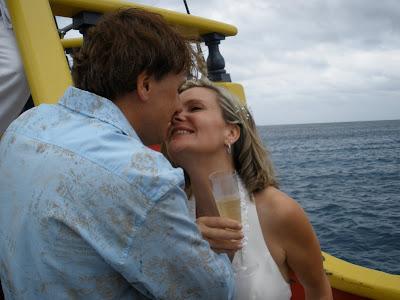 Walking the Plank at this fun Cayman Wedding - image 3