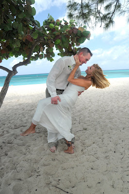 Cayman Islands Beach Wedding for US Marine - image 3