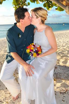 Grand Cayman Sunset Wedding Vow Renewal - image 3