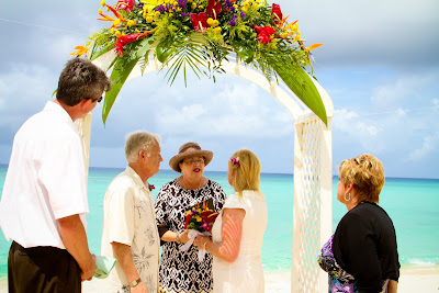 Jewish Influence in Grand Cayman Beach Wedding - image 3