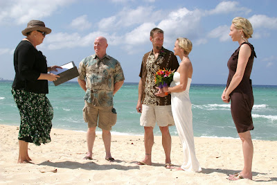 Grand Cayman Beach Wedding for Georgia Law Enforcement Officers - image 2