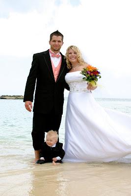 Cruisers enjoy this Smith's Cove, Grand Cayman Beach Wedding - image 7